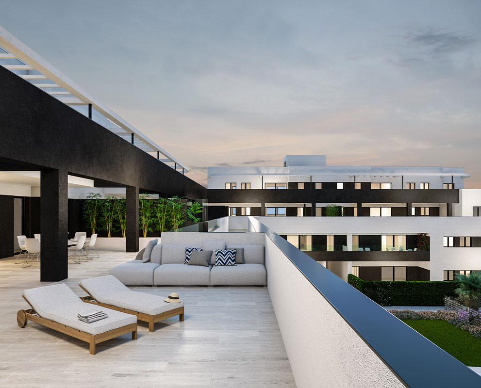 Residencial Altos de Pozoalbero proyecto de Iniciativas Inmobiliarias en Cádiz