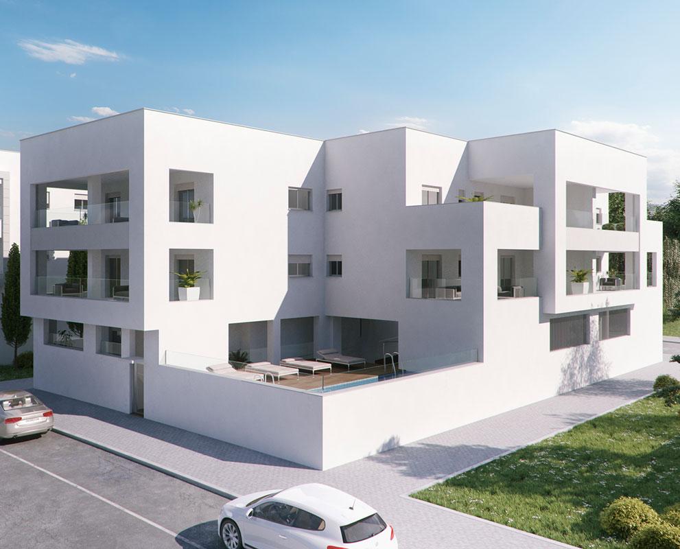 Residencial Conil Playa proyecto de Iniciativas Inmobiliarias en Cádiz