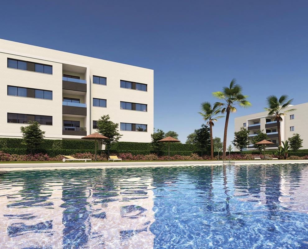 Residencial Plaza Norte proyecto de Iniciativas Inmobiliarias en Cádiz