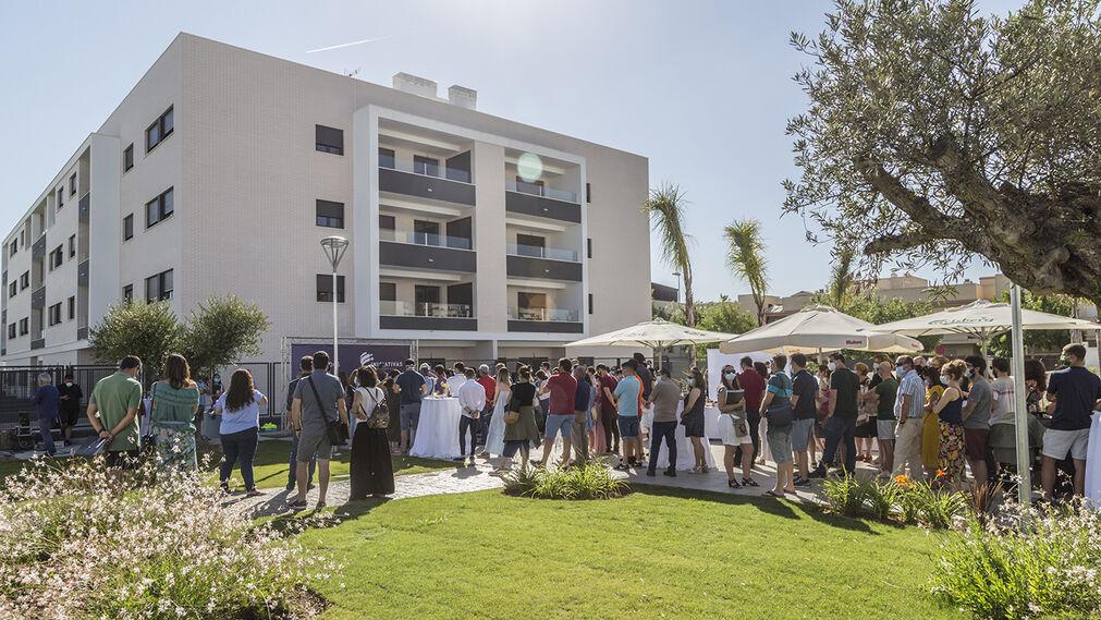 Entrega Residencial Plaza Norte proyecto de Iniciativas Inmobiliarias en Cádiz
