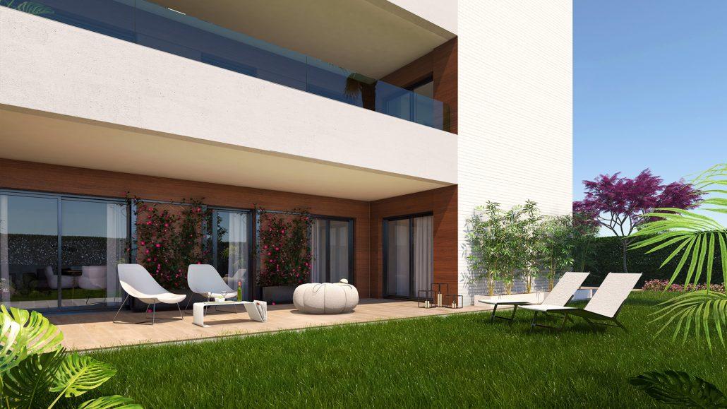 Terrazas La Laguna proyecto de Iniciativas Inmobiliarias en Cádiz