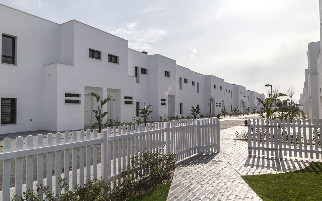 Entrega de viviendas Residencial La Laguna en Rota